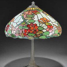 Always buying antique leaded lamps!  www.craigacarterantiques.com