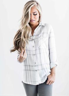 Plaid Shirt, Plaid style, fall fashion, womens fashion, shop jessakae