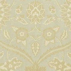 Schumacher Kashida Weave Ciel Fabric