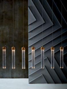 Fluted Cylinder Pendant Lights - under $100