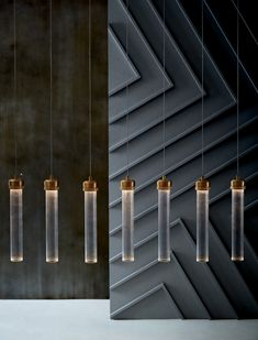 Fluted Cylinder Pendant Lights - under $100