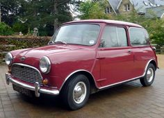 The Mini, produced by the British Motor Corporation (1959): The innovative transverse-engine design by Sir Alec Issigonis (1906-1988) made it an icon.