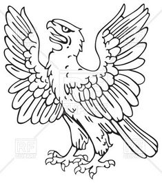 Heraldic eagle, 48150, download royalty-free vector clipart (EPS)