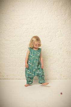 ebe38fc0e30364 Stunning 'Into the Wilderness' Playaway Playsuit! Add a soft, organic long  sleeved