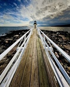 Marshall Point Lighthouse at Port Clyde in Maine, USA