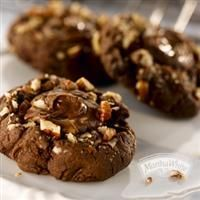 Turtle Fudge Chocolate Chip Cookies from Martha White® http://www.marthawhite.com/recipes/turtle-fudge-chocolate-chip-cookies-5511