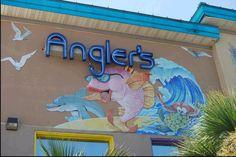 Angler's Beachside Grill on the Boardwalk on Okaloosa Island in Ft. Walton Beach, FL