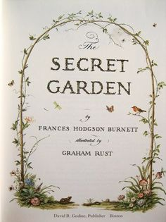 The Secret Garden (1909), F. Hodgson Burnett