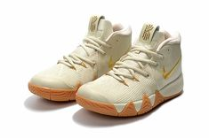 Wholesale nike kyrie 4 basketball shoes beige on www.enjoyshoes.net