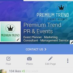 Planificare, organizare, coordonare, promovare evenimente !