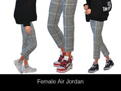 HypeSim – Female Jordan Swatches) I converted Air Jordan to . HypeSim – Female Jordan Swatches) I converted Air Jordan to female shoes. The CC includes the three swat Sims 4 Male Clothes, Sims 4 Cc Kids Clothing, Clothes For Women, Kids Clothes Boys, Sims 4 Mods, Sims 4 Cc Skin, Sims Cc, Jordan 3, Women's Shoes