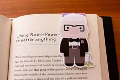 Perhaps Carl can help you look up the right page. | 24 Brilliant Bookmarks You Need In Your Life