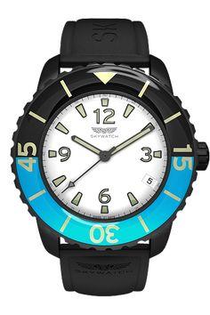 ee676806f43 Skywatch 44 mm 3-hand Black IP Empresas De Relógios De Pulso