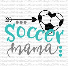 Soccer mama svg, eps, dxf, png, cricut, cameo, scan N cut, cut file, Soccer svg, soccer mom svg, soccer mama cut file, soccer mom by JMGraphicsCO on Etsy