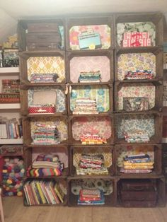 The fabric of my life: Sewing Room - Homespun Style (part 2)