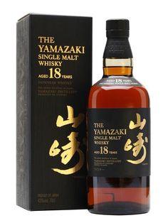 Yamazaki Single Malt Japanese Whisky Aged 18 Years