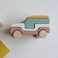 A stacking toy for an imaginative open ended play. Handmade in Greece, using natural wood, such as beech and olive wood. The glue and water based colors used, conform to EN-71-3 standards (toy safety standards). The beautiful design ensures it will last through time and remain a favorite. Finished with natural beeswax. It comes in a cardboard box.Recommended age: +24 months. Always inspect toys before handing them to small children.Dimensions:------------------------------------------Length: 15 Wooden Baby Toys, Wooden Toy Cars, Handmade Wooden Toys, Wood Toys, Baby Crib Mobile, Baby Cribs, Stacking Toys, Montessori Toys, Toddler Toys