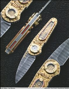 Van Barnett Time Machine Knife