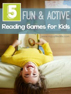5 Fun & Active Reading Games for Kids - Environmental Literacy Challenge is all about – to turn a quiet, passive activity into an active reading game for kids.