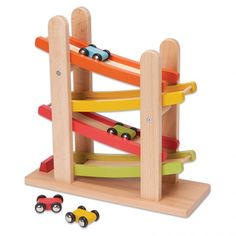 Junior Ramp Racer - Racetrack ramp & 4 cars from <em>Maxim Enterprises</em>