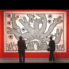 by Keith Haring @ Brooklyn Museum , unfortunately not on my wall..