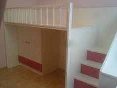 dormitorio a medida para acoplar dos camas