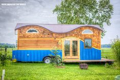 The Pequod by Rocky Mountain Tiny Houses - http://www.tinyhouseliving.com/the-pequod-by-rocky-mountain-tiny-houses/