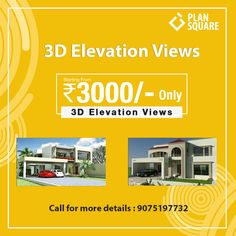 Elevation Views now in cheap rate. Get us on call. Call now on 9075197732 Software Sales, 3d, How To Plan