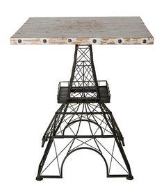 Look at this #zulilyfind! Eiffel Tower Side Table #zulilyfinds