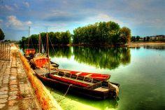 Loire Orléans France Fleuve royal