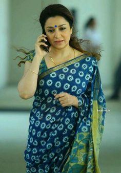 Tisca Chopra Indian Attire, Indian Wear, Indian Outfits, Indian Style, Beautiful Saree, Beautiful Outfits, Beautiful Clothes, Blouse Styles, Blouse Designs