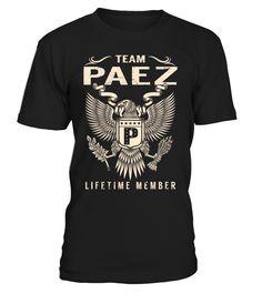 Team PAEZ Lifetime Member