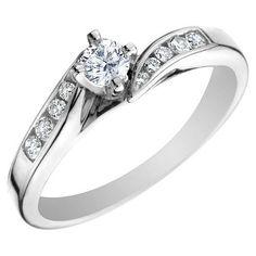Modern Engagement Rings 2014