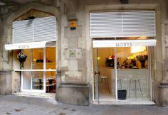 Norte Restaurante. Pequeño y agradable local en el Eixample. Platos pequeños y calidad. No hay menú de mediodía.