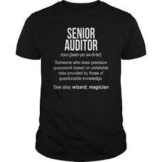I Love  Senior Auditor noun definition meaning funny shirt Shirts & Tees #tee #tshirt #Job #ZodiacTshirt #Profession #Career #auditor