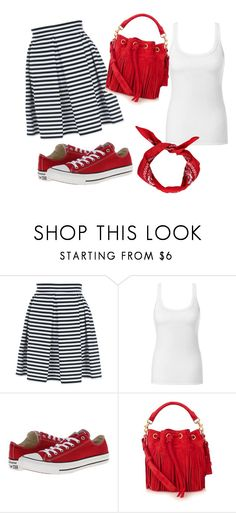 """""""black,white and red."""" by dzenana11 ❤ liked on Polyvore featuring Jane Norman, Intimissimi, Converse, Yves Saint Laurent, Boohoo, women's clothing, women's fashion, women, female and woman"""