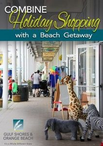 Combine Holiday Shopping with a Beach Getaway