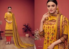House of Lawn Nazm Digital Printed Karachi Lawn Cotton with embroidery Work Dress Material at Wholesale Rate Fashion Killa, Ootd Fashion, Fashion Addict, Girl Fashion, Fashion Design, Indian Ladies Dress, Indian Dresses Online, Indian Fashion Trends, Indian Ethnic Wear