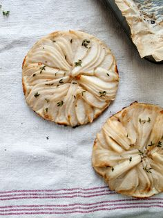 Rustic Pear Tart from Emma at The Marion House Book