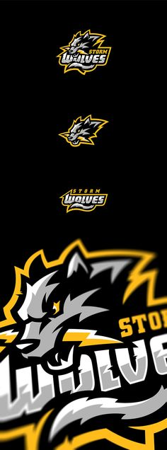 Storm Wolves on Behance