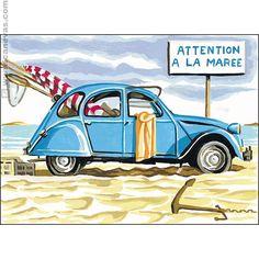 Attention à la marée
