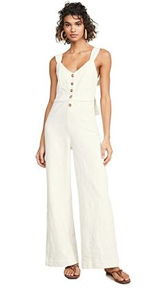 84ae6fc05e8 Knot Sisters Rae Jumpsuit in Natural White