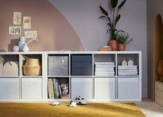 """KALLAX Shelf unit, high gloss white, 30 3/8x57 7/8 """" - IKEA Drawer Inserts, Drawer Fronts, Etagere Kallax Ikea, Kallax Insert, Ikea Regal Expedit, Ikea Portugal, New Swedish Design, Kallax Shelving Unit, Billy Regal"""