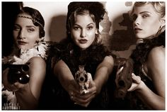 The mafia project III: Bad girls | OberlePhotoArt