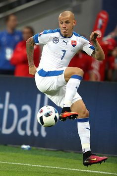 #EURO2016 Vladimir Weiss of Slovakia in action during the UEFA EURO 2016 Group B match between Slovakia and England at Stade GeoffroyGuichard on June 20 2016...