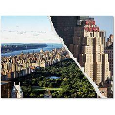 "Trademark Fine Art ""Central Park View"" Canvas Art by Philippe Hugonnard"