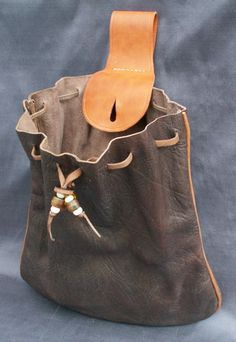 Yrgna the Flea Bitten - Gnoll Warlock - Cosplay Century Mans Belt Bag Leather Briefcase, Leather Pouch, Leather Handle, Leather Purses, Leather Handbags, Bucket Bag, Sacs Tote Bags, Pouch Pattern, Chloe Bag