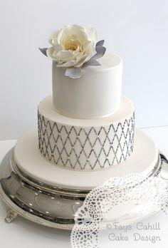 Beautiful Wedding Cakes from Faye Cahill Cake Design in Australia - MODwedding