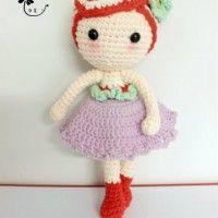 Crochet Doll Peach sorella Graphic