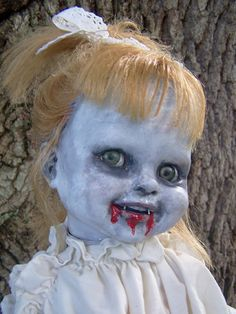 I love weird, creepy goth style dolls. I keep meaning to try and make one, but never seem to get to it.